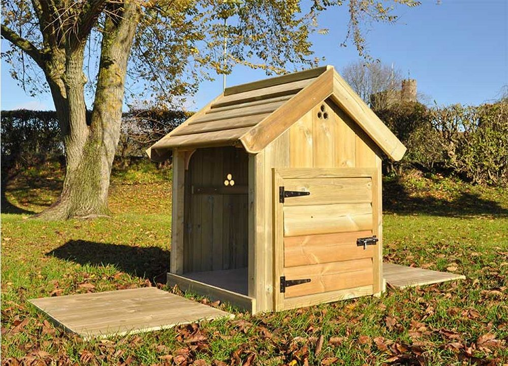 Cherry marasca duck house cotswold chickens for Duck house door size
