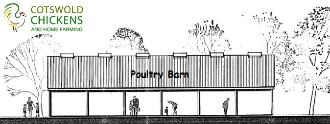 Cotswold Chickens Poultry Barn